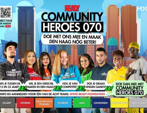 Aanmelden voor Community Heroes 070 traject 2!
