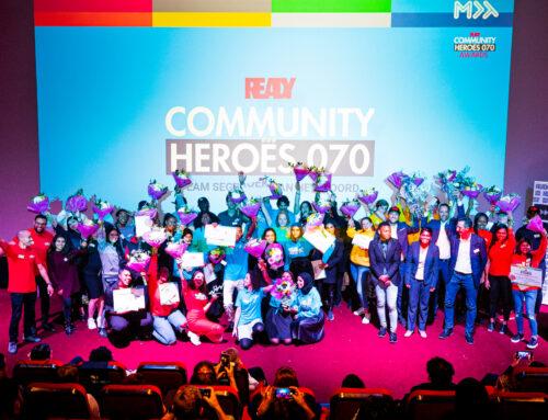 Spetterende Award Uitreiking sluit eerste READY Community Heroes 070 af