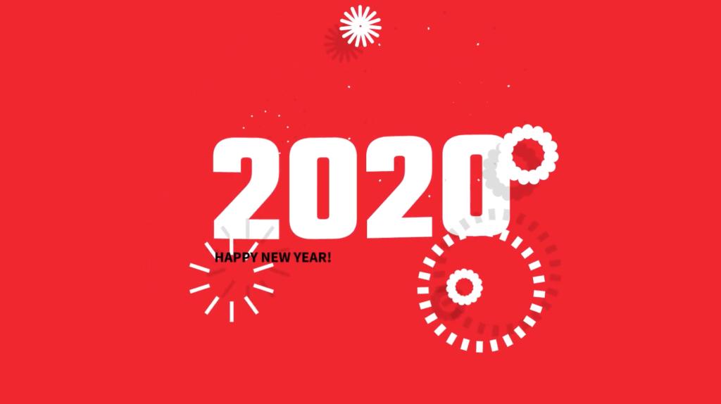 2020 nieuwjaar