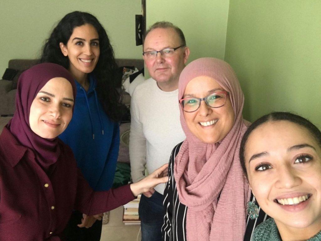 Ruud en Hafida op bezoek bij Baaaz Podcast over Stichting READY Community Heroes